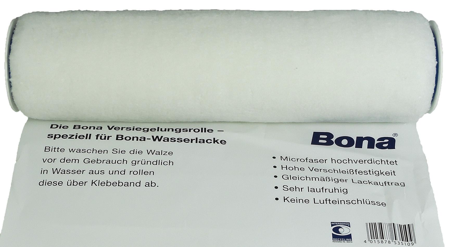 bona versiegelungsrolle lackrolle wasserlackrolle 25 cm | ebay