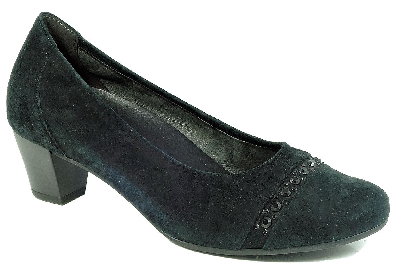 Détails sur Gabor Escarpins, Chaussures, Noir, H Large, Comfort Art. 36.182.47 taille 37 uk 4 afficher le titre d'origine
